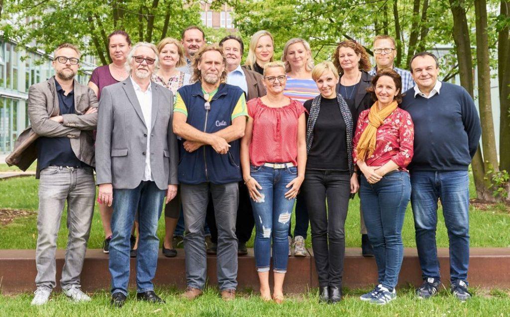 Das Team des RAZ Verlags (Bild: Matthias Pfänder)